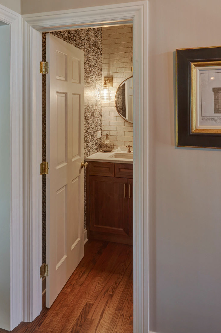 powder-room-bathroom-doorway-barrington-il-redux-interior-design