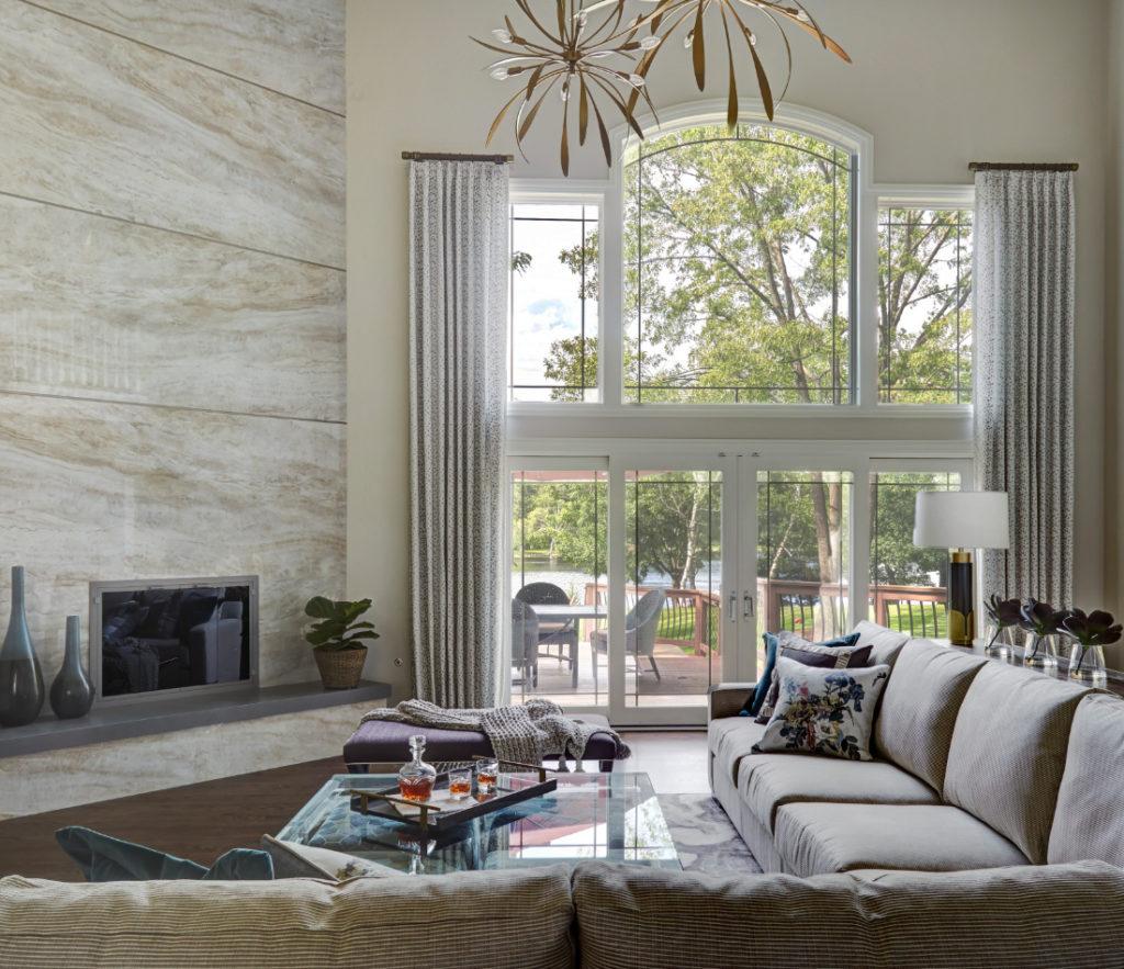 Hawthorn Woods Il Family Room Interior Design