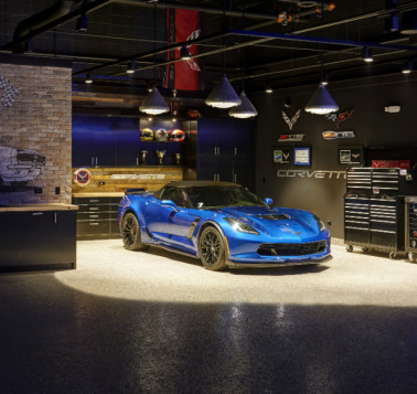 Man Cave Design Ideas: The Luxury Car Cave