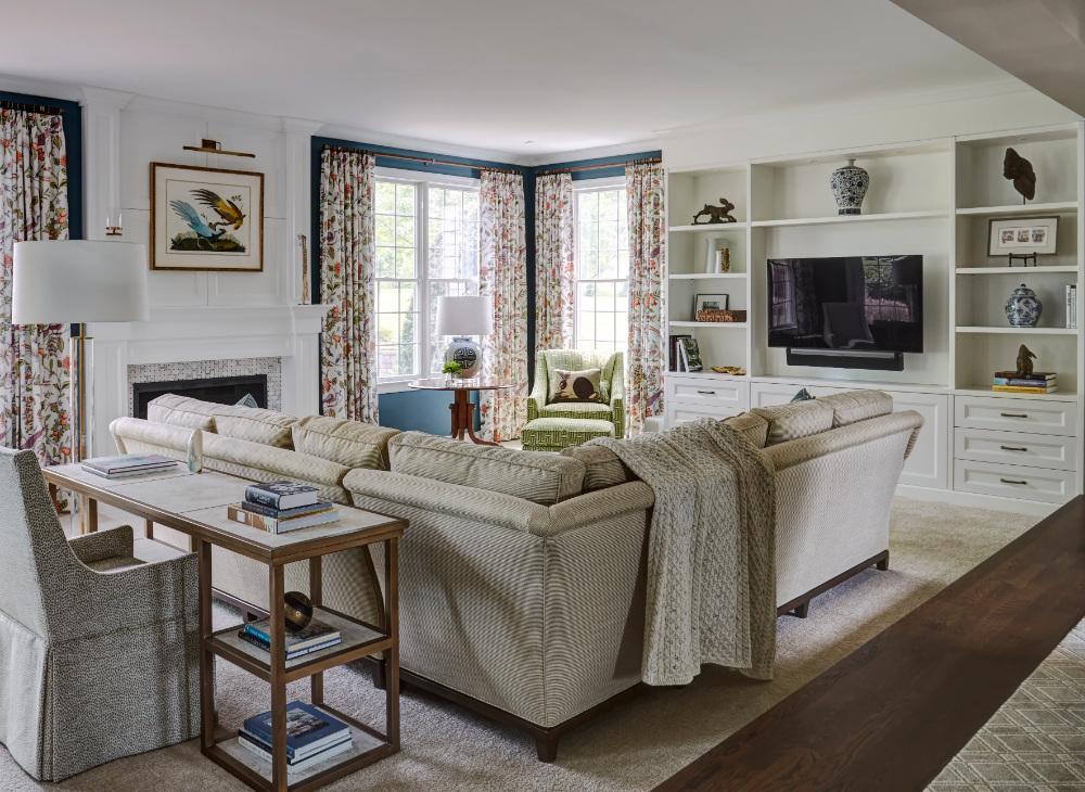 Barrington Il Living Room Interior Design Renovation