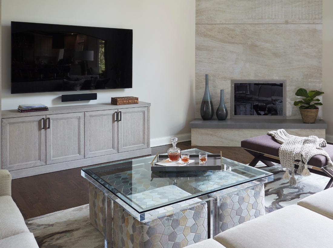Family Room Interior Design Project Redux