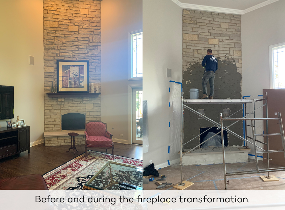 Fireplace Transformation Redux Interior Design
