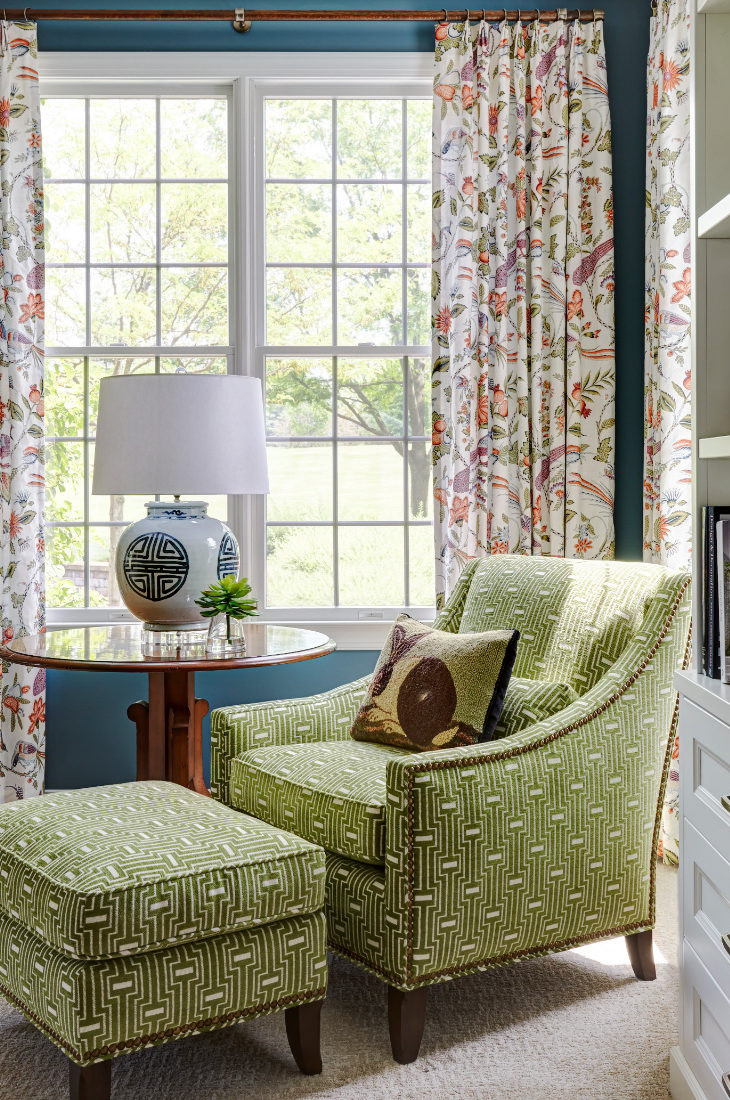 green-accent-chair-with-ottoman-barrington-il-living-room