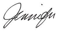 Jennifer Redux Signature