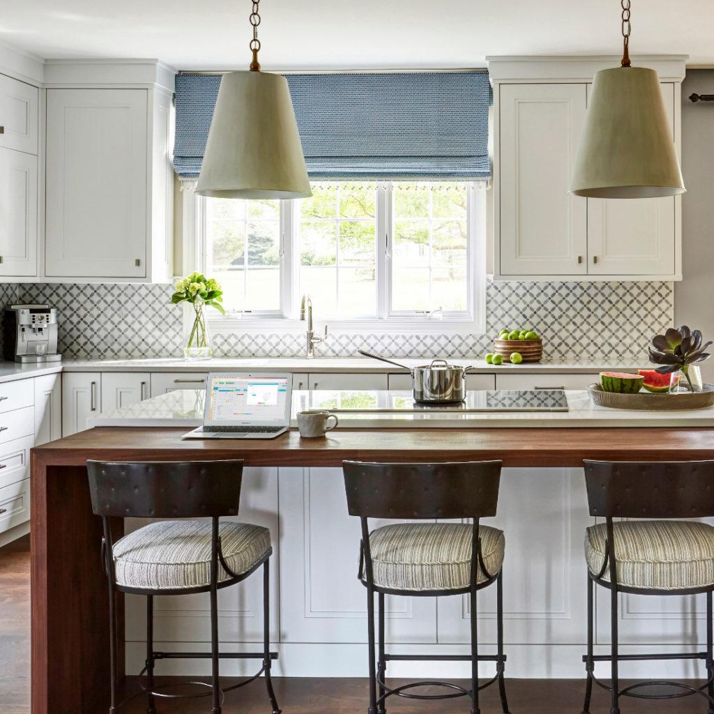 Kitchen Interior Design Breakfast Stool Barrington Il