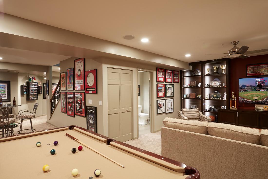 redux-interior-design-basement-remodel-pool-table-interior-design