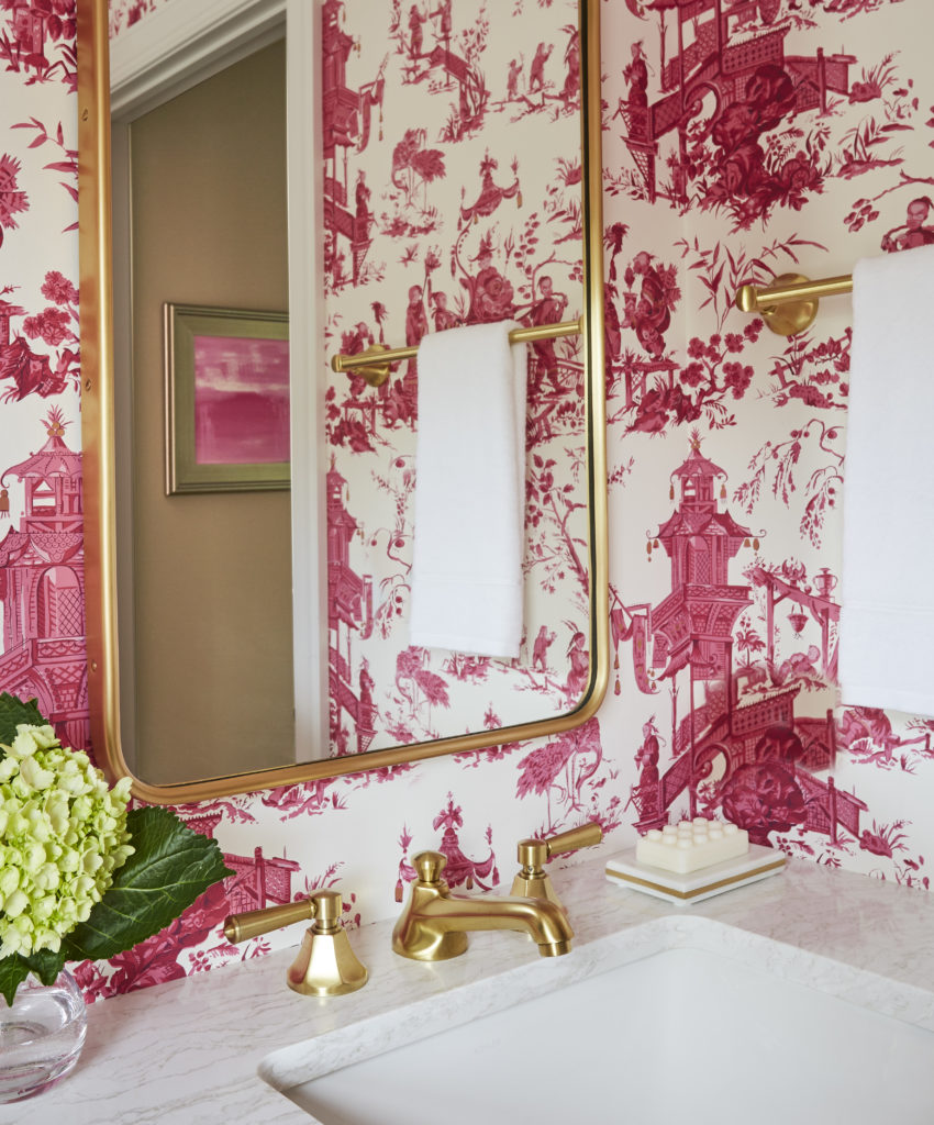 Redux Interior Design Powder Room