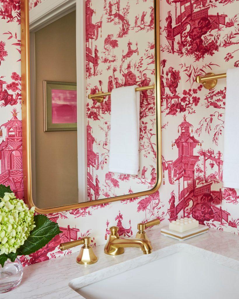 Redux Interior Design Wallpaper Bathroom